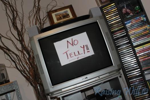 No Telly!