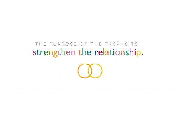 The Purpose of the Task is to Strengthen the Relationship