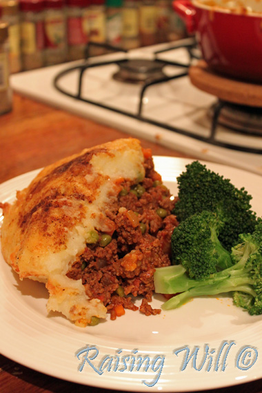 Perfect for wintery nights: Cottage Pie