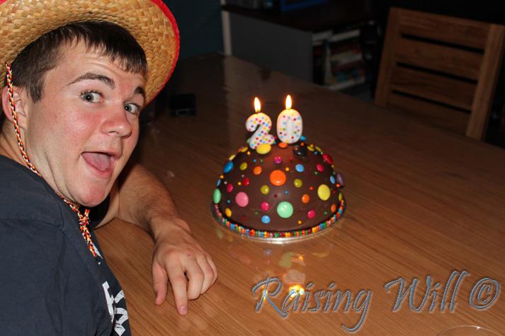 Stuart's Piñata Cake!