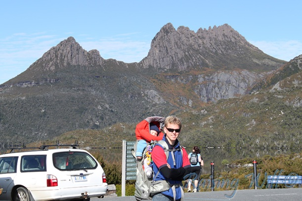 Ready Set Go! Off to walk the Dove Lake Circuit at Cradle Mountain