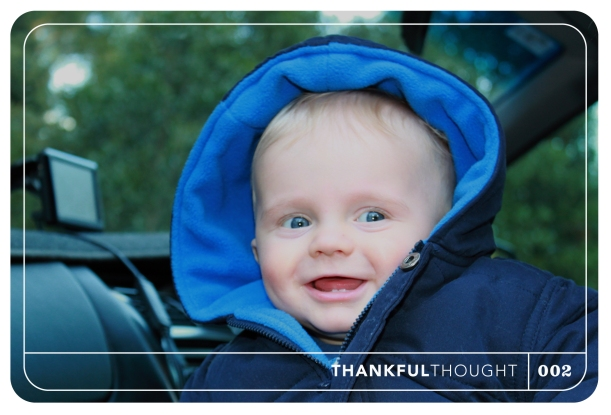 Thankful Thought No 2 - Happiness