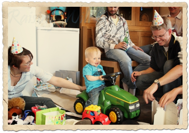 A Tractor for a Special Birthday Boy