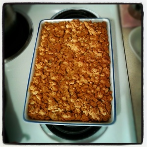 Crunchy Apple Crumble