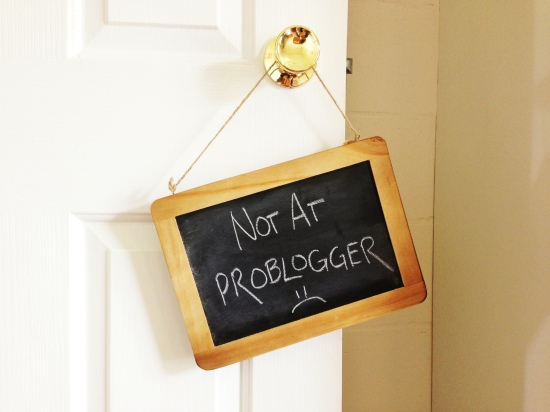 Not At Problogger